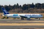 ばっきーさんが、成田国際空港で撮影した全日空 767-381/ER(BCF)の航空フォト(写真)