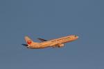 airdrugさんが、羽田空港で撮影した日本トランスオーシャン航空 737-446の航空フォト(写真)