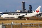 ばっきーさんが、成田国際空港で撮影した日本航空 737-846の航空フォト(写真)