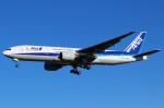 ばっきーさんが、成田国際空港で撮影した全日空 777-281/ERの航空フォト(写真)