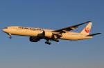 ばっきーさんが、成田国際空港で撮影した日本航空 777-346/ERの航空フォト(写真)