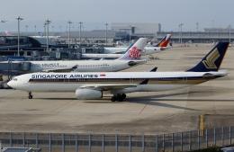 ハピネスさんが、関西国際空港で撮影したシンガポール航空 A330-343Xの航空フォト(写真)