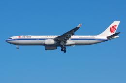 PASSENGERさんが、羽田空港で撮影した中国国際航空 A330-343Xの航空フォト(写真)