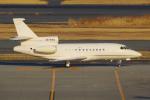 PASSENGERさんが、羽田空港で撮影したエグゼクジェット・ミドル・イースト Falcon 900DXの航空フォト(写真)