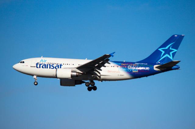 エア・トランザット Airbus A310-300 C-GSAT トロント・ピアソン国際空港  航空フォト | by KAZ_YYZさん