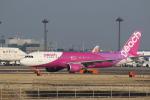 airdrugさんが、成田国際空港で撮影したピーチ A320-214の航空フォト(写真)