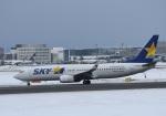 くーぺいさんが、新千歳空港で撮影したスカイマーク 737-86Nの航空フォト(写真)