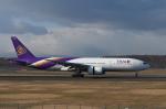 くーぺいさんが、新千歳空港で撮影したタイ国際航空 777-2D7の航空フォト(写真)