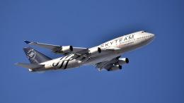 ららぞうさんが、新千歳空港で撮影したチャイナエアライン 747-409の航空フォト(写真)