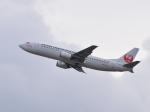 きゅうさんが、関西国際空港で撮影した日本トランスオーシャン航空 737-4Q3の航空フォト(写真)