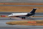 たまさんが、羽田空港で撮影したWELLS FARGO BANK NORTHWEST NA TRUSTEE EMB-550 Legacy 500の航空フォト(写真)