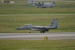 kon chanさんが、嘉手納飛行場で撮影したアメリカ空軍 F-15D Eagleの航空フォト(写真)