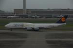 よしポンさんが、羽田空港で撮影したルフトハンザドイツ航空 747-830の航空フォト(写真)
