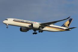 DBACKさんが、羽田空港で撮影したシンガポール航空 A350-941XWBの航空フォト(写真)