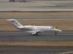 パピヨンさんが、羽田空港で撮影した法人所有 525A Citation CJ2+の航空フォト(写真)