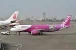 タヌキさんが、高雄国際空港で撮影したピーチ A320-214の航空フォト(写真)