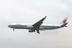 turt@かめちゃんさんが、台湾桃園国際空港で撮影した中国国際航空 A330-343Xの航空フォト(写真)