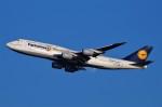 たなしんさんが、羽田空港で撮影したルフトハンザドイツ航空 747-830の航空フォト(写真)