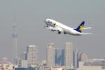 zettaishinさんが、羽田空港で撮影したスカイマーク 737-8Q8の航空フォト(写真)