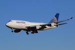 気分屋さんが、成田国際空港で撮影したユナイテッド航空 747-422の航空フォト(写真)