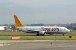 panchiさんが、レオナルド・ダ・ヴィンチ国際空港で撮影したペガサス・エアラインズ 737-82Rの航空フォト(写真)