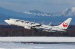 よっしぃさんが、新千歳空港で撮影した日本航空 737-846の航空フォト(写真)