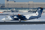 よっしぃさんが、新千歳空港で撮影したオーロラ DHC-8-201Q Dash 8の航空フォト(写真)