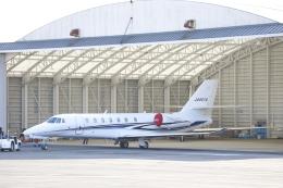 ピーチさんが、岡山空港で撮影した法人所有 680 Citation Sovereignの航空フォト(写真)