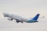 Semirapidさんが、関西国際空港で撮影したガルーダ・インドネシア航空 A330-343Xの航空フォト(写真)