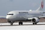 sakanayahiroさんが、釧路空港で撮影したJALエクスプレス 737-846の航空フォト(写真)