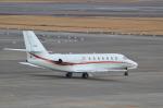 ja0hleさんが、名古屋飛行場で撮影した朝日航洋 680 Citation Sovereignの航空フォト(写真)