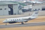 ja0hleさんが、名古屋飛行場で撮影した国土交通省 航空局 G-1159 Gulfstream IIの航空フォト(写真)