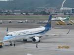 KIX787-9さんが、台北松山空港で撮影したマンダリン航空 ERJ-190-100 IGW (ERJ-190AR)の航空フォト(写真)