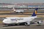 camelliaさんが、羽田空港で撮影したルフトハンザドイツ航空 747-830の航空フォト(写真)