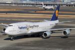 らっしーさんが、羽田空港で撮影したルフトハンザドイツ航空 747-830の航空フォト(写真)