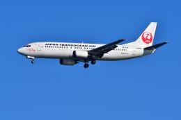 はるかのパパさんが、羽田空港で撮影した日本トランスオーシャン航空 737-446の航空フォト(写真)