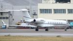 誘喜さんが、那覇空港で撮影したウェルズ・ファーゴ・バンク・ノースウェスト G-V Gulfstream Vの航空フォト(写真)
