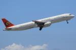 ぽんさんが、那覇空港で撮影したトランスアジア航空 A321-131の航空フォト(写真)