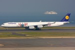 KAW-YGさんが、羽田空港で撮影したルフトハンザドイツ航空 A340-642の航空フォト(写真)
