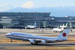 ハネヨンさんが、羽田空港で撮影した航空自衛隊 747-47Cの航空フォト(写真)