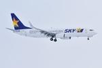 sky77さんが、新千歳空港で撮影したスカイマーク 737-82Yの航空フォト(写真)