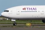じゃがさんが、新千歳空港で撮影したタイ国際航空 777-2D7の航空フォト(写真)
