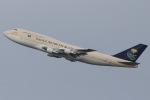 じゃがさんが、羽田空港で撮影したサウジアラビア王国政府 747-3G1の航空フォト(写真)