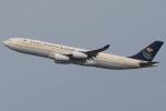 じゃがさんが、羽田空港で撮影したサウジアラビア王国政府 A340-213Xの航空フォト(写真)