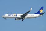 apphgさんが、羽田空港で撮影したスカイマーク 737-8FZの航空フォト(写真)