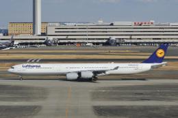 D-AWTRさんが、羽田空港で撮影したルフトハンザドイツ航空 A340-642の航空フォト(写真)