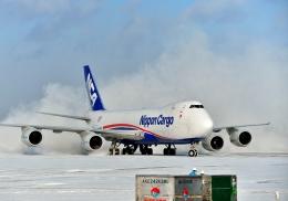 Cygnus00さんが、新千歳空港で撮影した日本貨物航空 747-8KZF/SCDの航空フォト(写真)