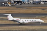 camelliaさんが、羽田空港で撮影したアメリカ企業所有 G-V-SP Gulfstream G550の航空フォト(写真)