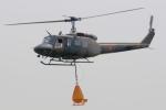 チャーリーマイクさんが、防府北基地で撮影した陸上自衛隊 UH-1Jの航空フォト(写真)