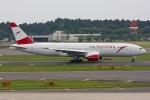 KAW-YGさんが、成田国際空港で撮影したオーストリア航空 777-2B8/ERの航空フォト(写真)